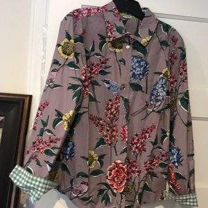 Boden patterned blouse